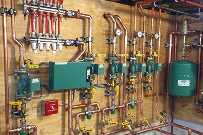 Hydronic Heating Senergy Mechanical Inc